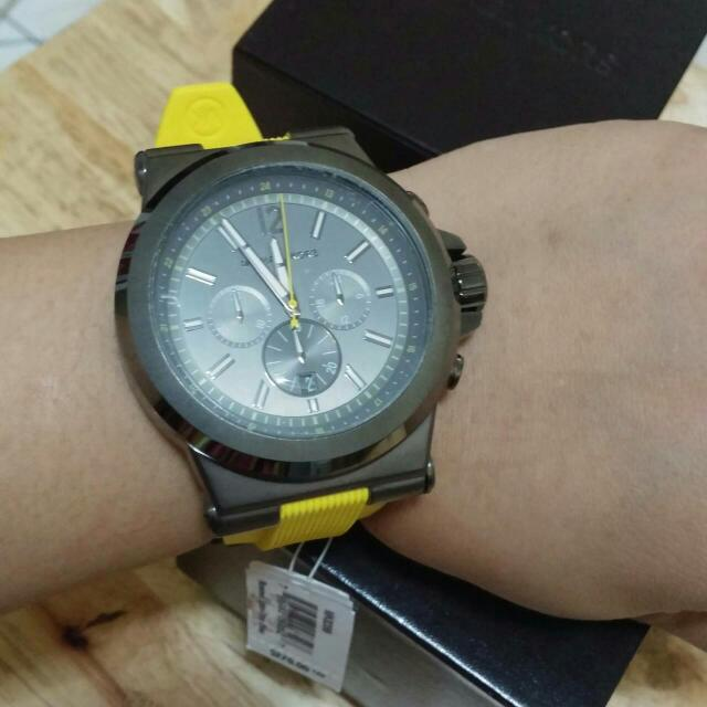 Authentic Michael Kors Silicone Watch