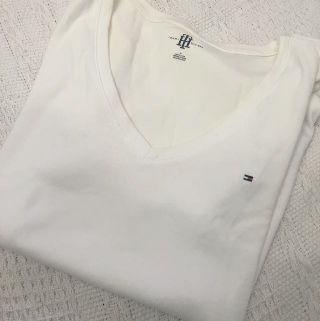 Authentic Tommy Hilfiger V Neck Tee