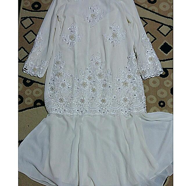 BAJU NIKAH PRELOVED, Women\'s Fashion, Bridal Wear on Carousell
