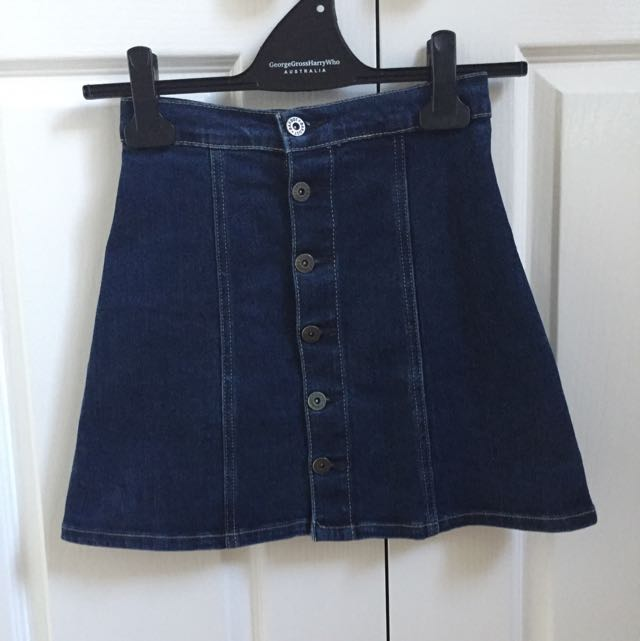 Bardot Denim Skirt