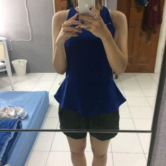 blue perplum