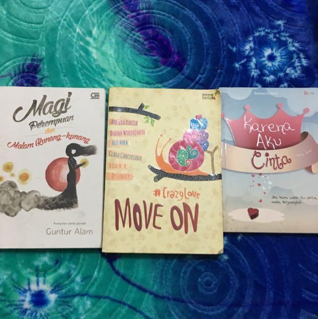 Cerpen Borong 3 Books