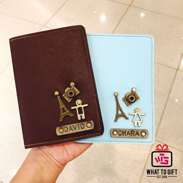 Design Your Own Passport Cover With Your Love Ones Womens