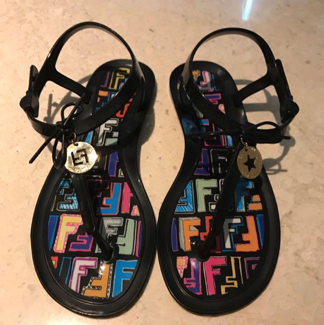 Fendi Jelly Sandals, Women's Fashion