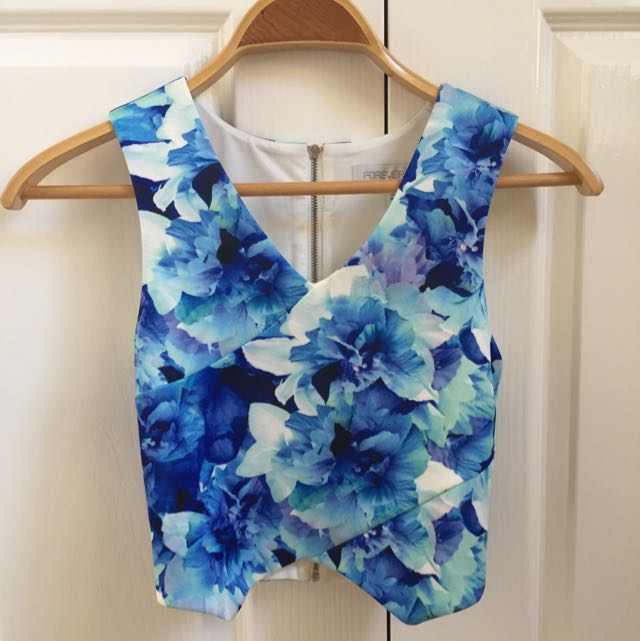 Floral Forever New Crop Top