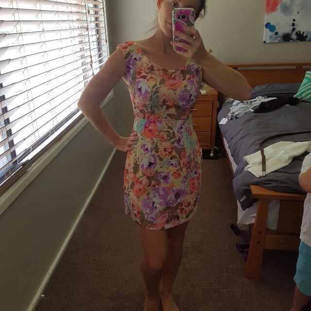 Floral Mini Dress Size S / 8