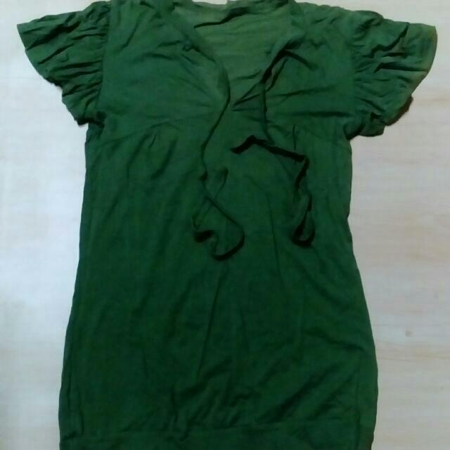 Flowy Top (green)