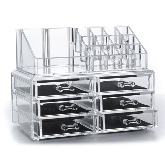[FREE POSTAGE} 6 DRAWERS COSMETIC ORGANIZER SET