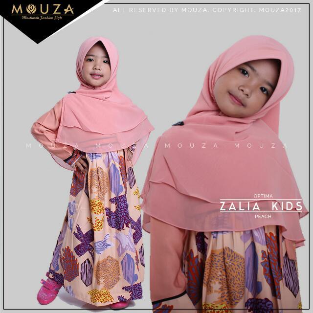 Gamis Zalia Kid Mouza