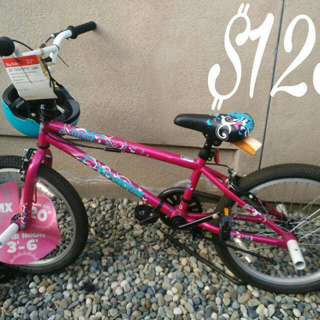Girl Bmx Bicycle