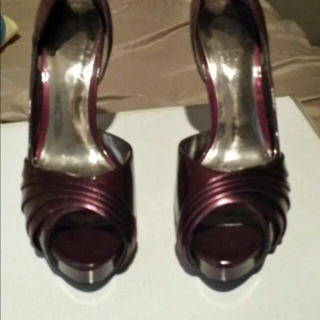 Guess Heels And La Republic ankle Heels