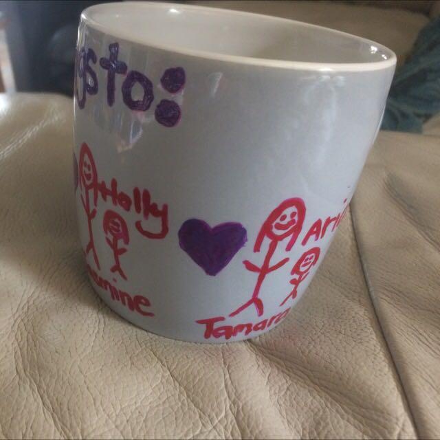 Hand painted Personalised Mugs