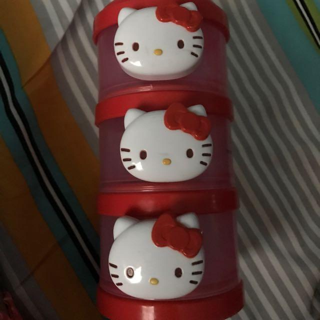 Hello Kitty Milk Powder Container