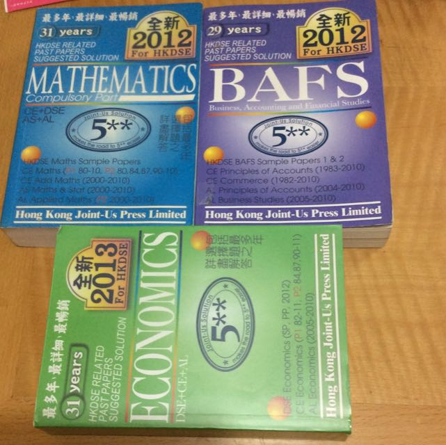 HKDSE BAFS MATHS ECONOMICS Past Paper Solution Joint Us On