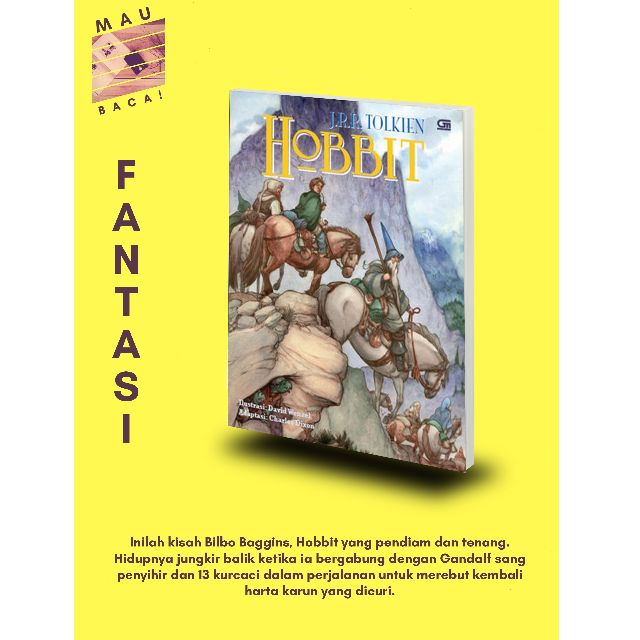 Hobbit - Novel Grafis (J.R.R. Tolkien)