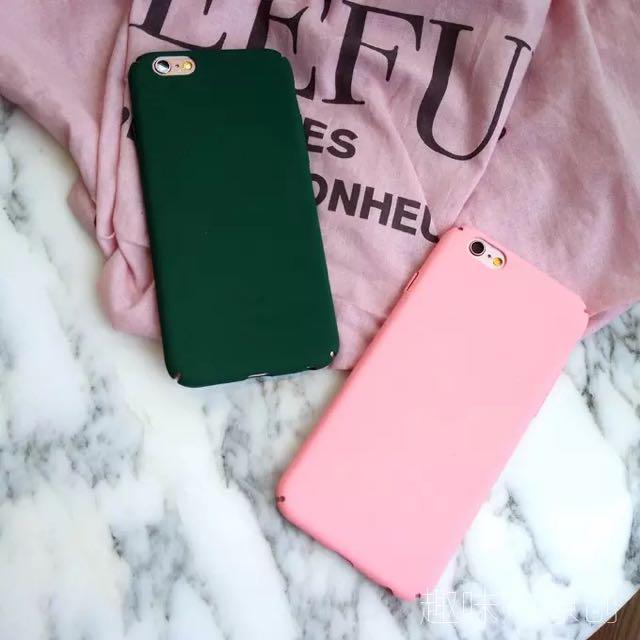 全新iphone5/5s/5se綠色磨砂手機殼