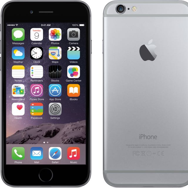 iPhone 6 Plus 64gb (Space Grey) - Newly exchanged set. 6 mths warranty