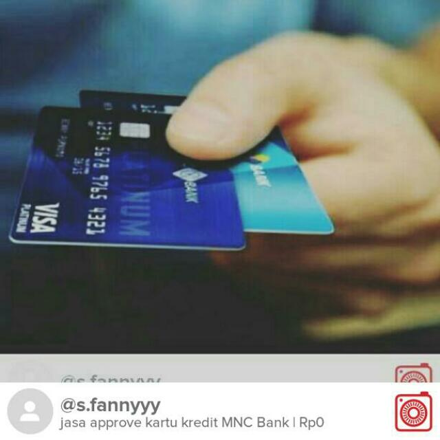 jasa approve kartu kredit MNC Bank
