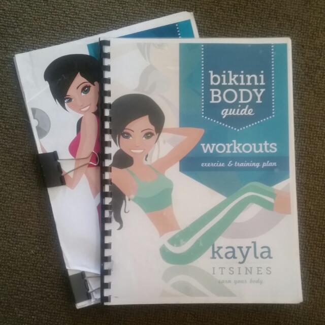 Kayla Itsines Workout Books