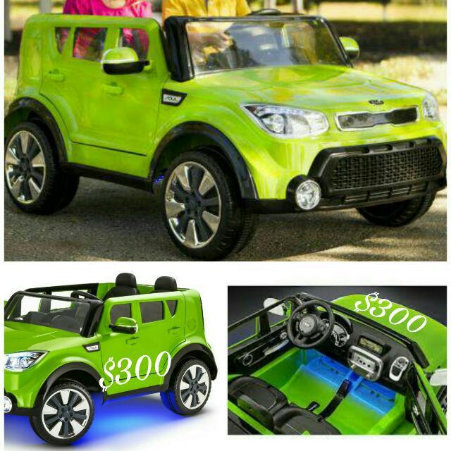 Kia Soul Kids Car