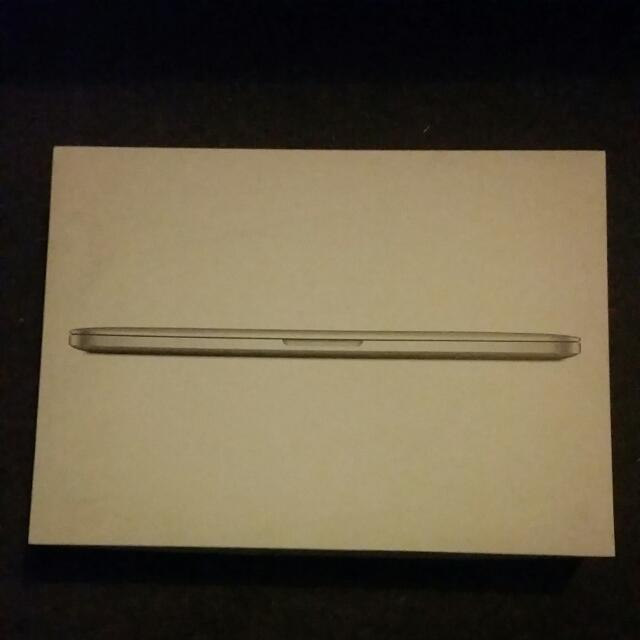 Mac Book Pro Box