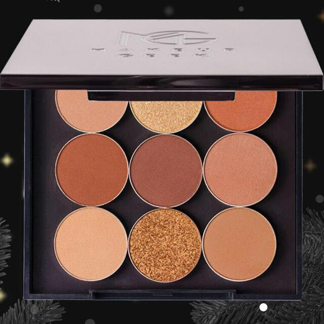 MakeUp Geek Warm & Cosy Bundle (Travel Palette & 9 Single Eyeshadows)