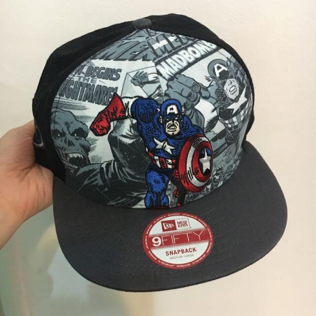 5aad5bee53536 Marvel Captain America New Era Cap