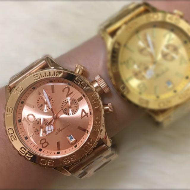 瑞士Mashali歐美不鏽鋼手錶 男女皆可帶💕💕