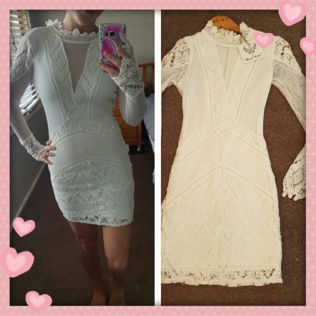 Mini Lace Dress Size 6