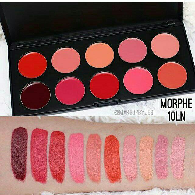 Morphe 10 Ln Balm Lip Palette