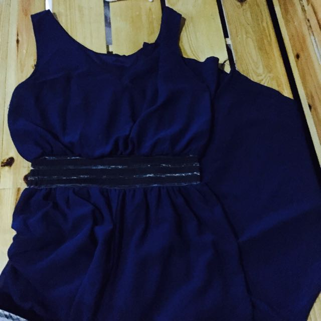 Reserved|Navy Blue Jumpsuit