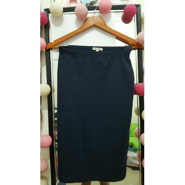 Navy Skirt | Colorbox