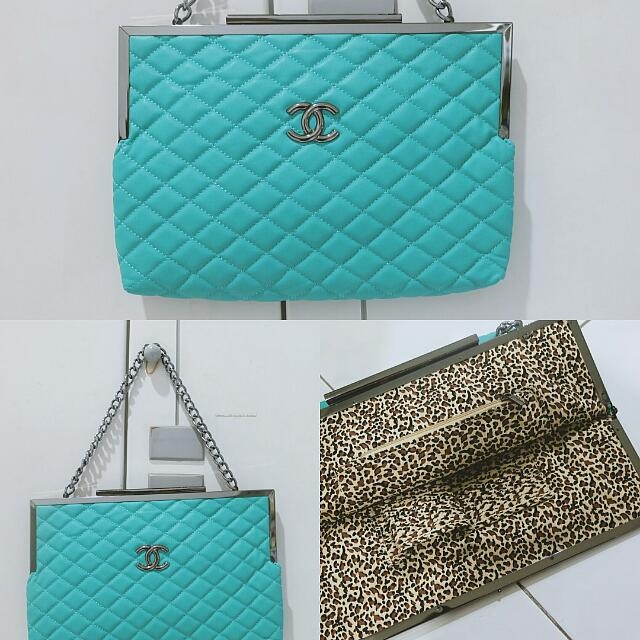 [NEW] Chanel tosca clutch