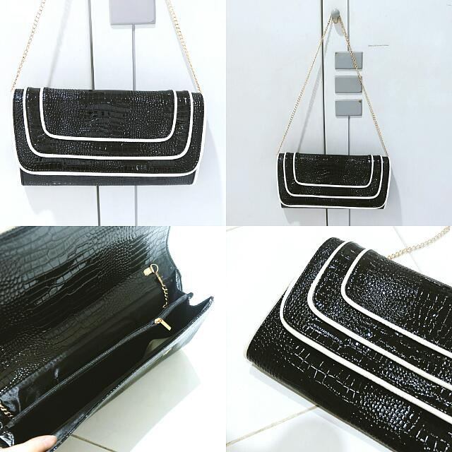 [NEW] monochrome clutch
