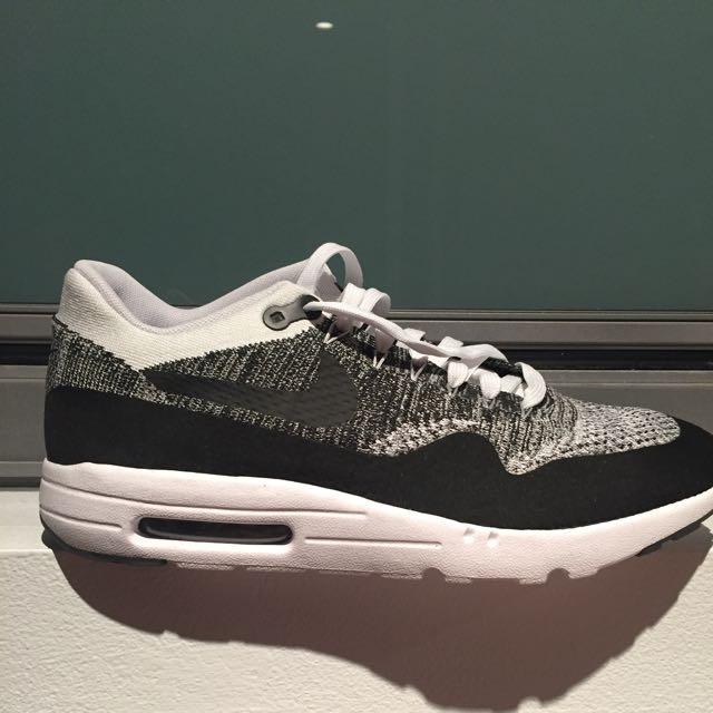 Nike Air Max 1 Ultra Flyknit Black/White/Grey