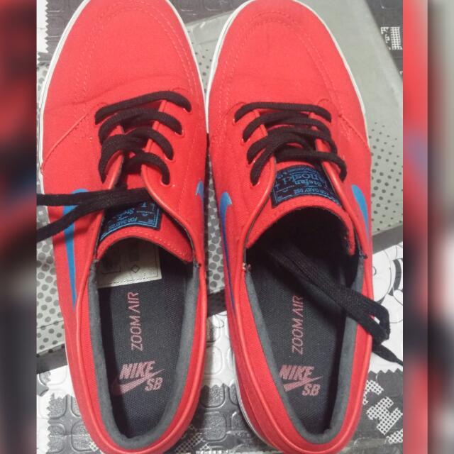 Nike Stefan Janoski Zoom Mens CNVS Skate Shoe