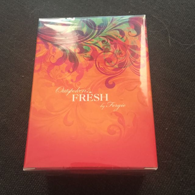 NEW Outspoken Fresh By Fergie Perfume