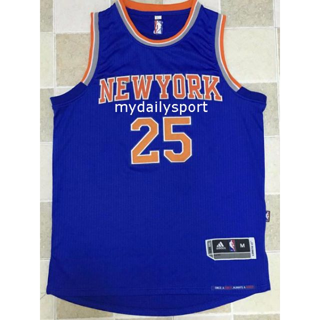 PO  NBA New York Knicks Derrick Rose Swingman jersey aec3a09ea