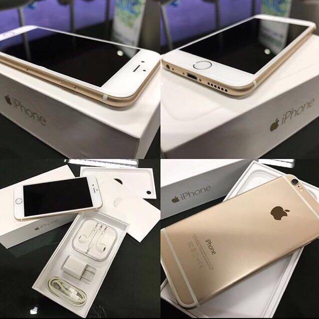 REPRICE Iphone 6 64gb Gold