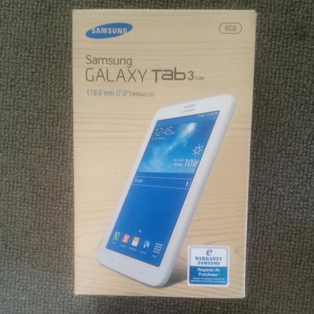 Samsung Galaxy Tablet 3 LITE