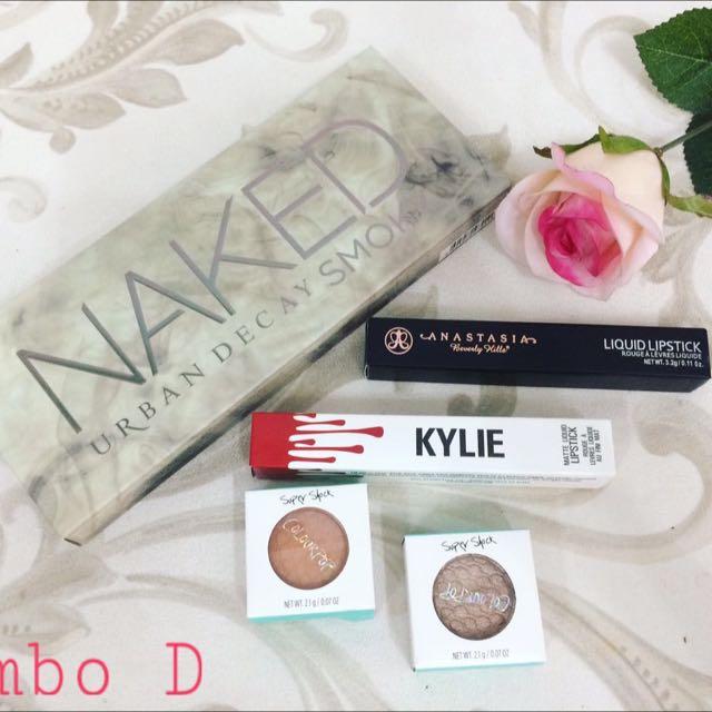 Set Makeup Combo D Produk Badan Dan Kecantikan Makeup Di Carousell