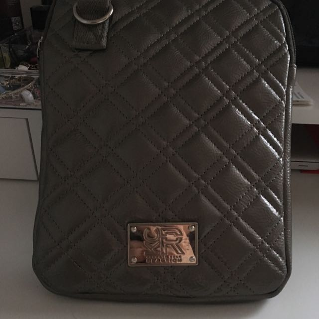 Silver Kenneth Cole Reaction Side Purse