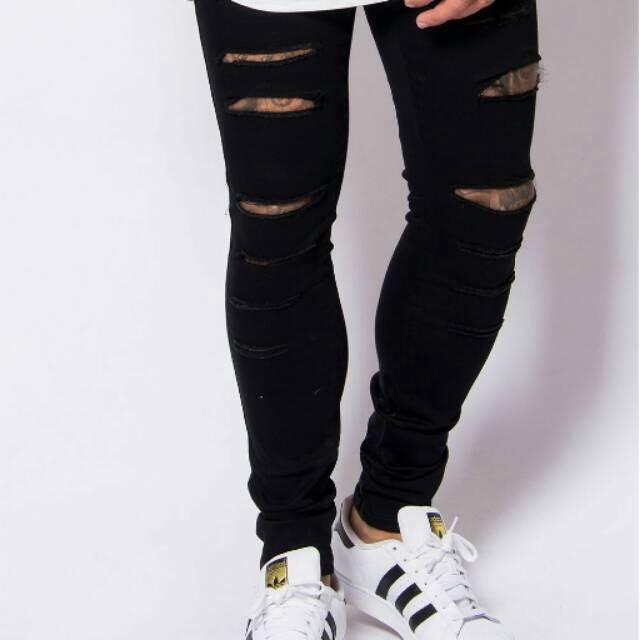 Skinny Hunter Rippeds Jeans