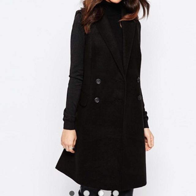 Sleeveless Coat Size S-M