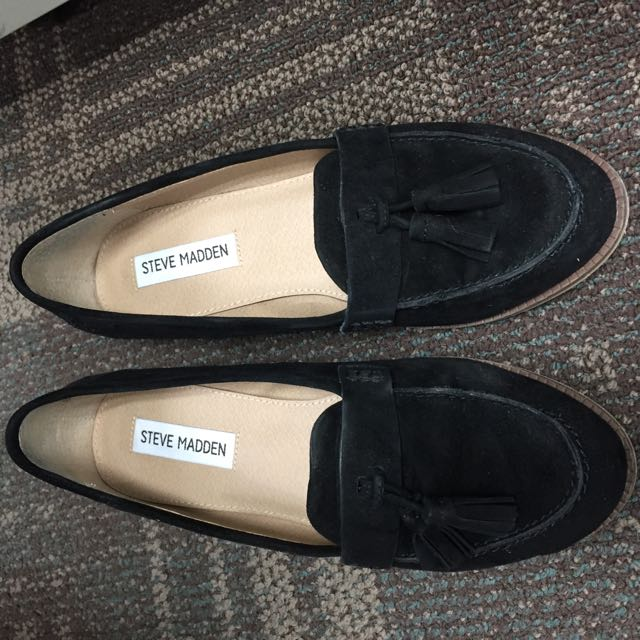 Steve Madden 麂皮樂福鞋(含運)