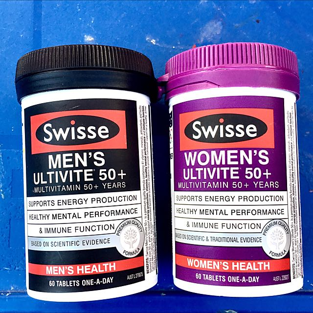 Swisse Ultivite Multivitamins