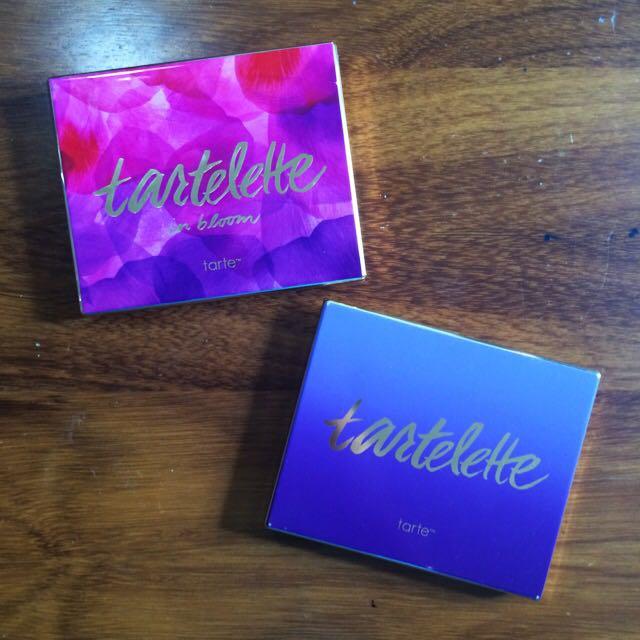 Tartelette And Tartelette In Bloom Palettes