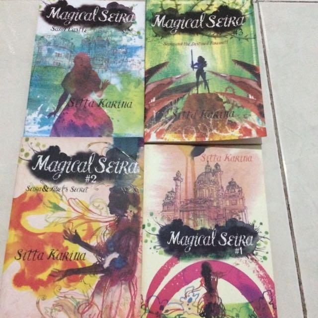 Tetralogi Magical Seira - Sitta Karina