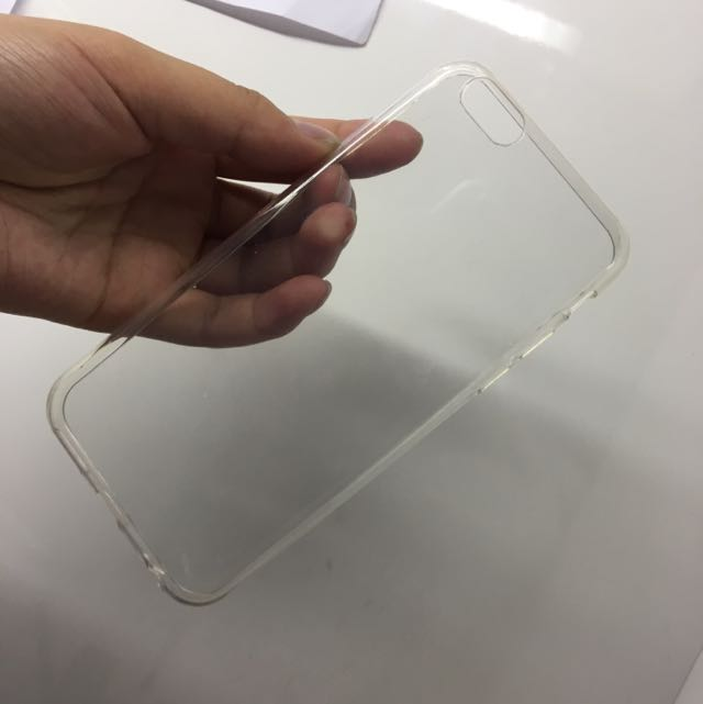 thin CLEAR IPHONE 6/6s case