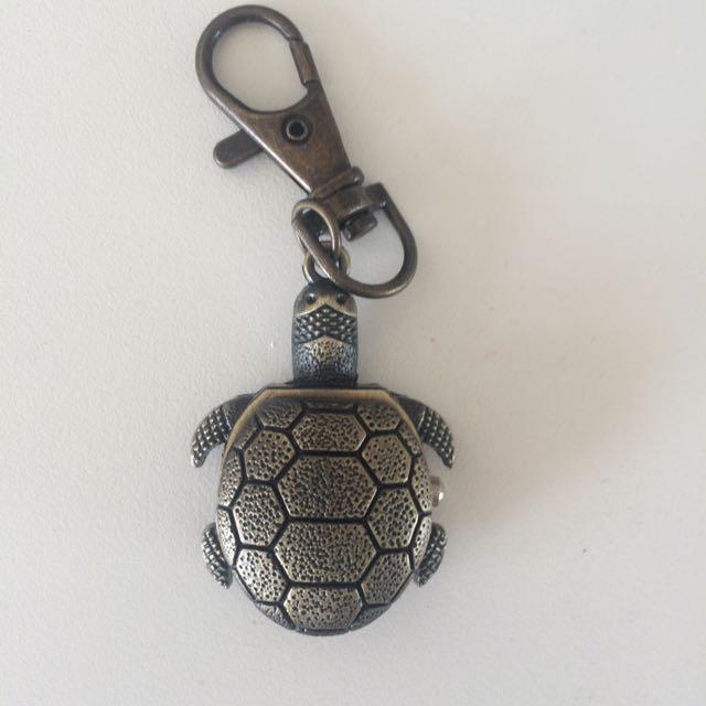 turtle pocket watch